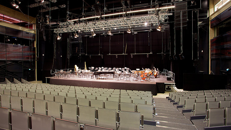 Meyer Sound Constellation at Finland's Logomo Hall