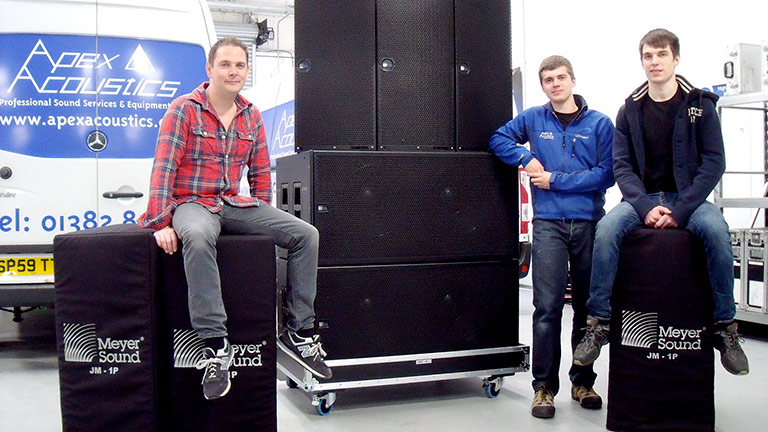 Apex Acoustics Invests in JM-1P
