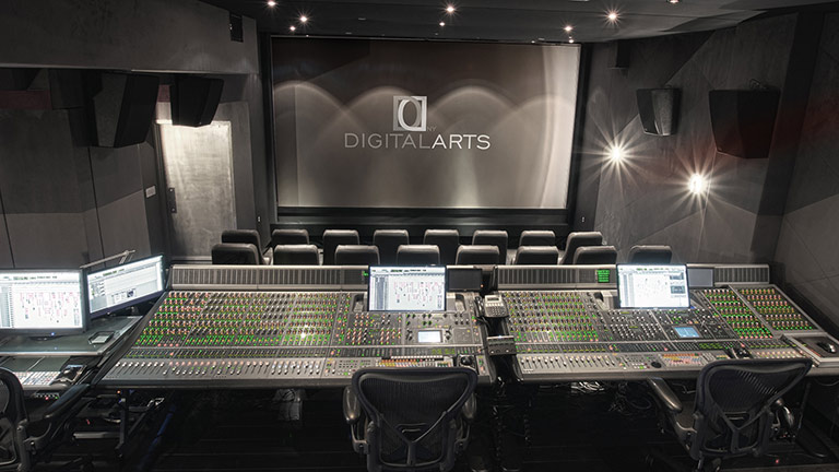 Digital Arts Cinema Mixing