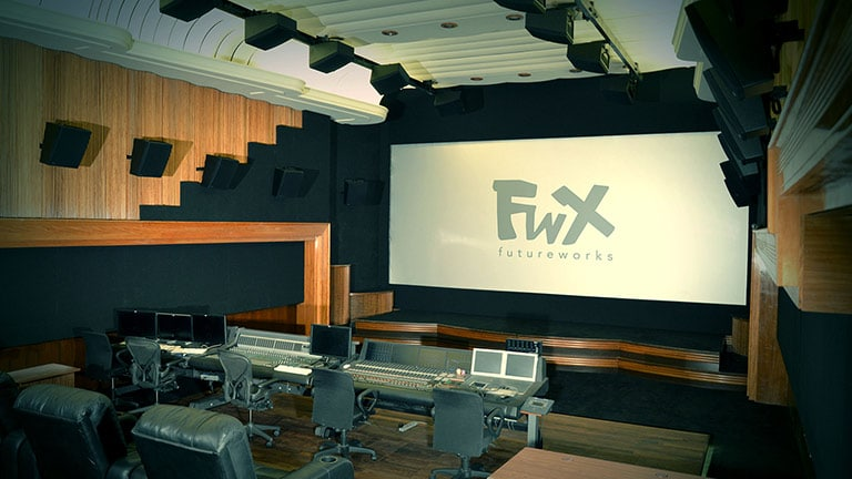 FutureWorks Studio Receives Dolby Premier Studio Certification