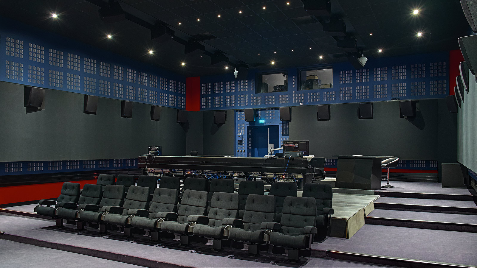 Dolby Atmos Mixing Stage Meyer Sound