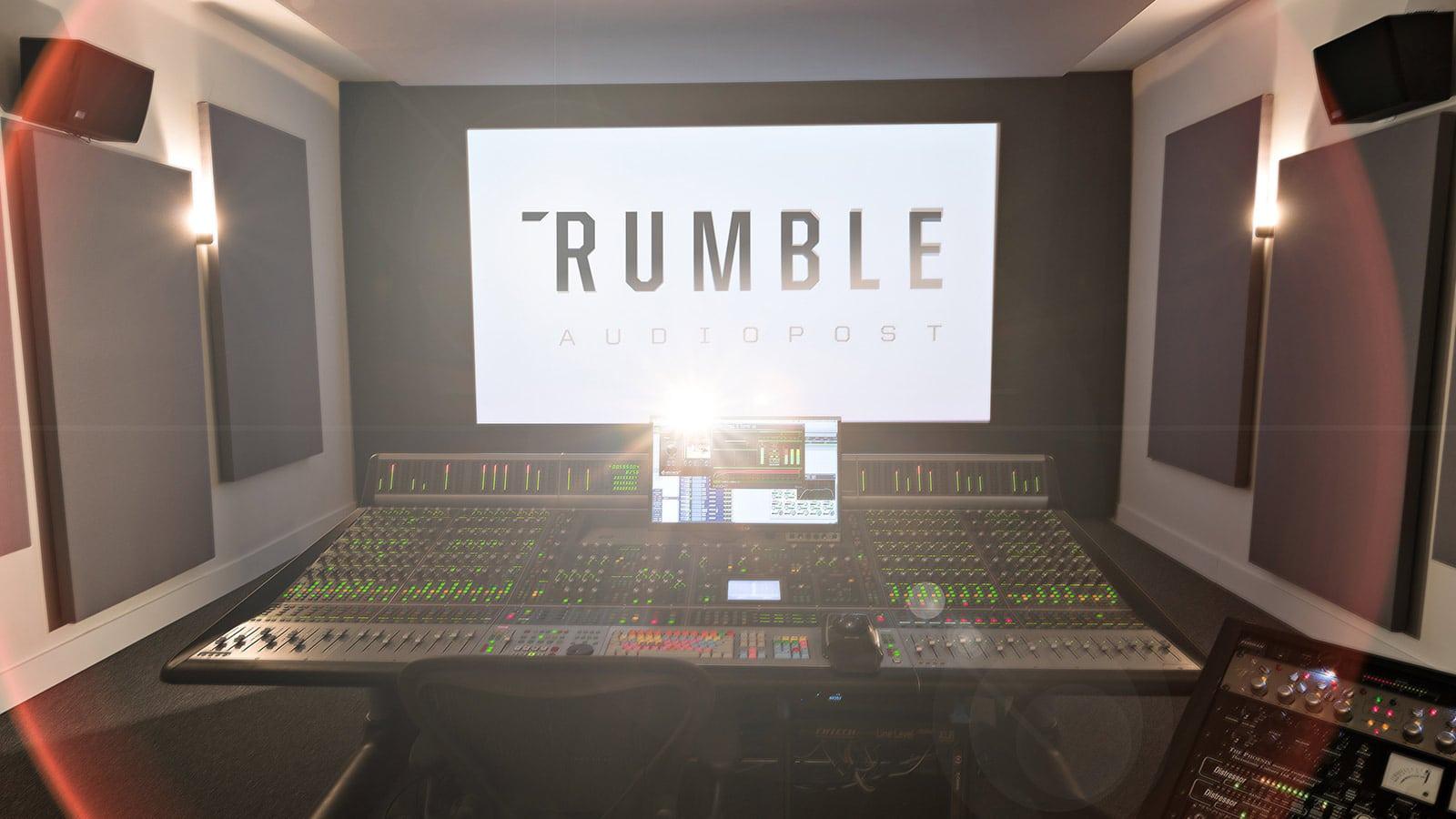 Rumble Audio Post   Meyer Sound