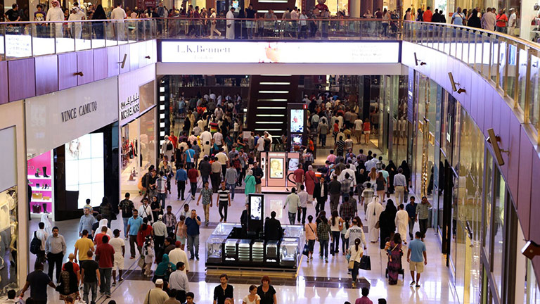 Dubai Mall Installs MM-4XP