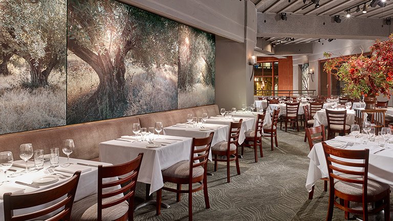 Oliveto Restaurant Collaborates with Meyer Sound