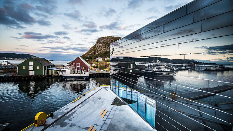 Fosnavåg Cultural Centre is a Showcase for Technology Solutions