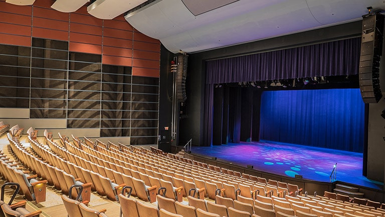 Centrepointe Theatre Upgrades with LEOPARD System