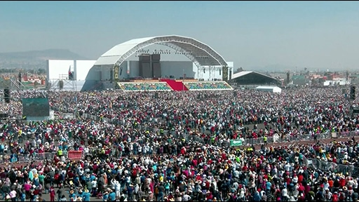 LEO Family Powers 300,000-Strong Papal Event in Mexico