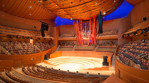 The Music Center Chooses LEOPARD for Walt Disney Concert Hall