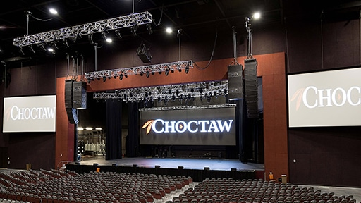 Choctaw Casino Resort Opens World-Class Theatre with LEO
