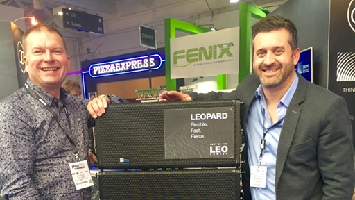 London's Capital Sound Invests in LEOPARD