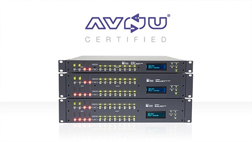 GALAXY Granted AVnu Certification