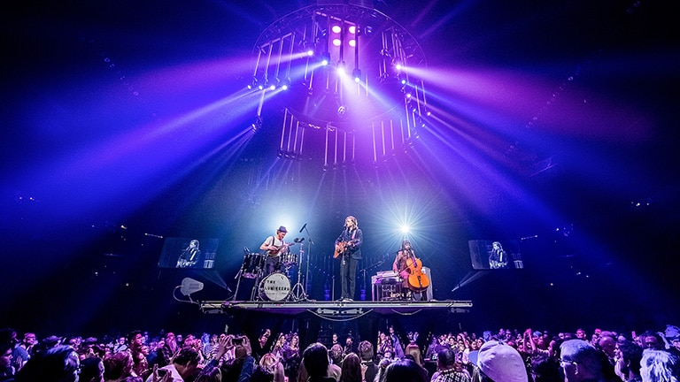 The Lumineers on the Road with LEO and LYON