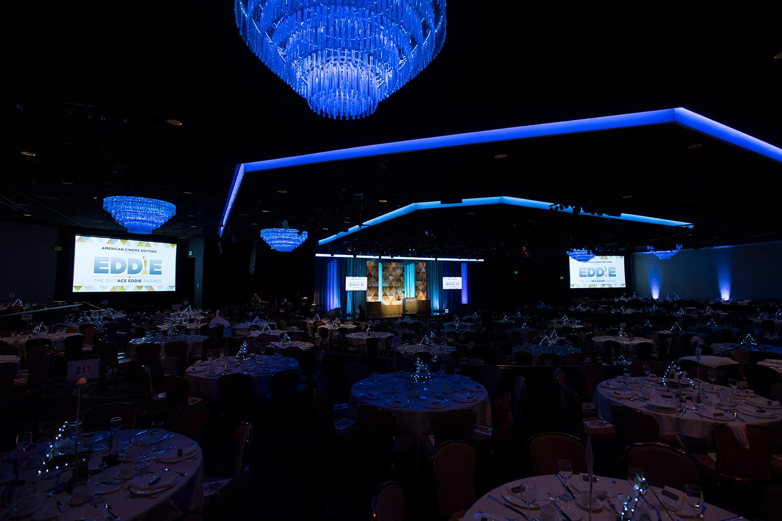 Beverly Hilton International Ballroom – Beverly Hills, California
