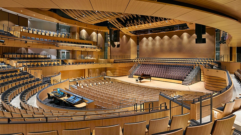 Liberty Offers Acoustical Flexibility with Constellation