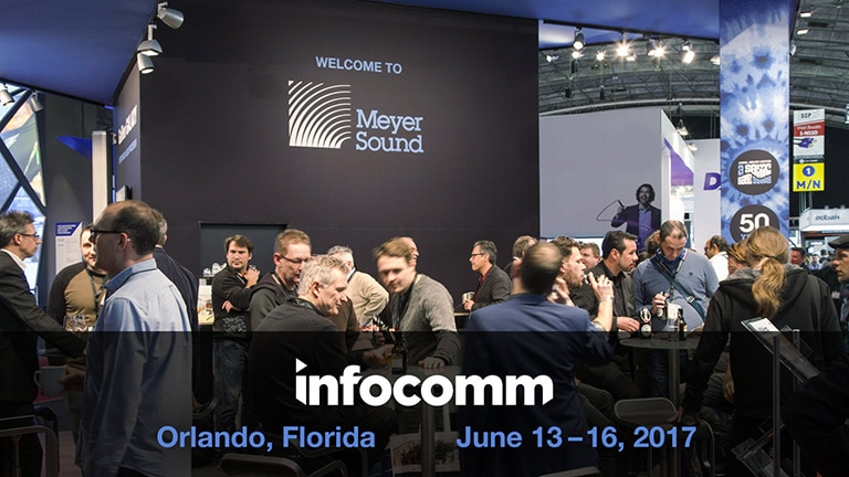 LINA Line Array and Immersive Sound at InfoComm