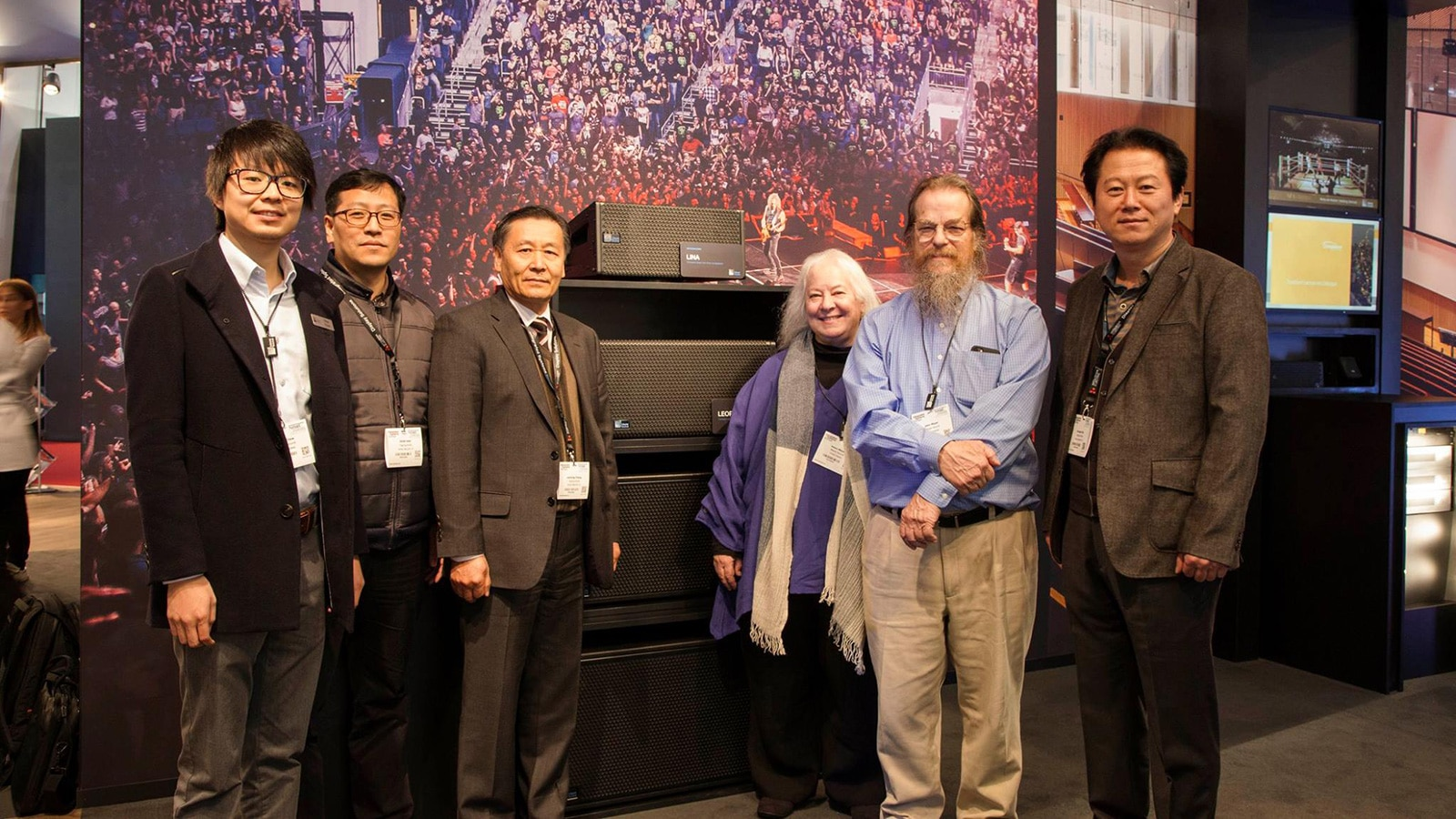 Left to Right: Brian Chow, Eric Han, Joo Hong Chang, Helen Meyer, John Meyer, Steve Kim