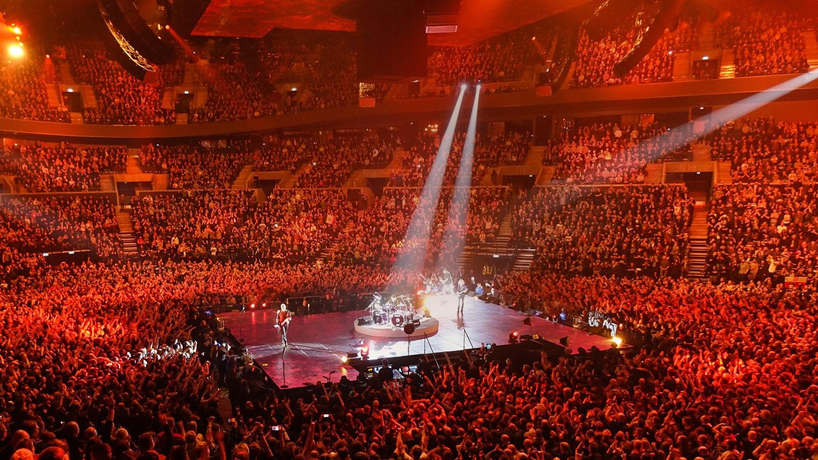 Live Sound Showcase: Metallica | Meyer Sound