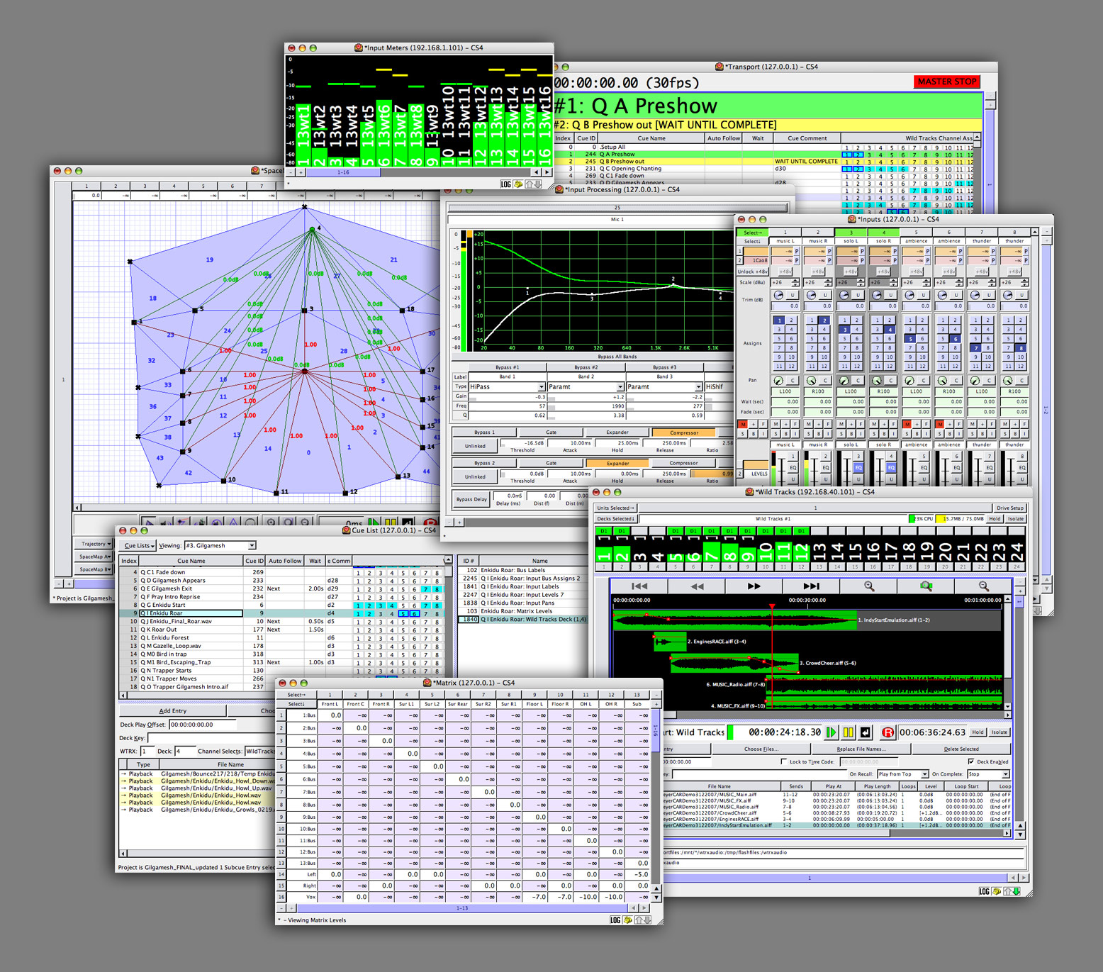 Products Meyer Sound Public Address System Wiring Diagram Cuestationcontrol Software