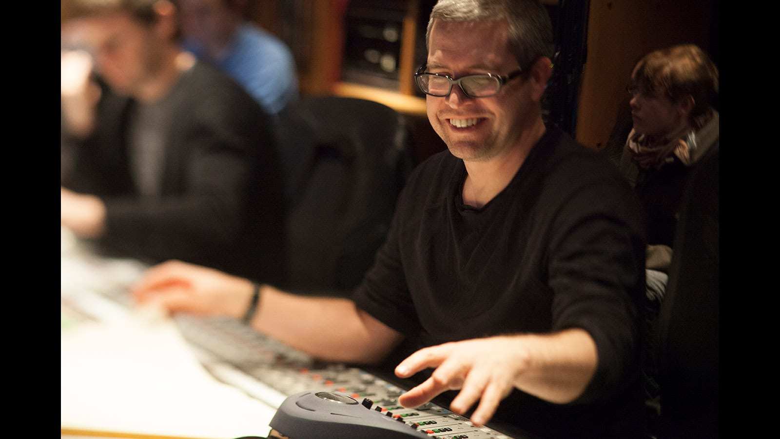 Film composer John Powell at work
