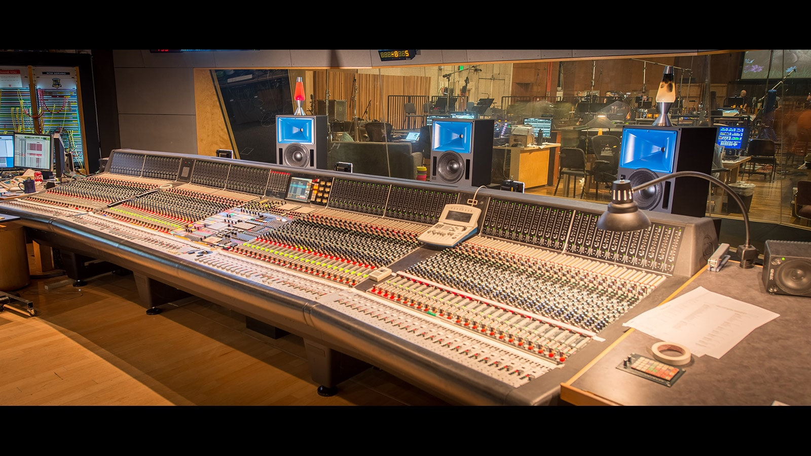 Bluehorn System in the <em>Newman Scoring Stage</em> at 20th Century Fox Studios