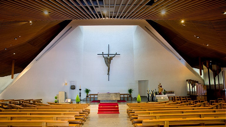 CAL Loudspeakers Enhance Intelligibility and Aesthetics at Swiss Church