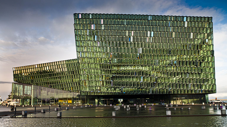 Harpa Concert Hall and Conference Centre Complete with Meyer Sound