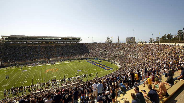 Meyer Sound CAL at Berkeley's Memorial Stadium