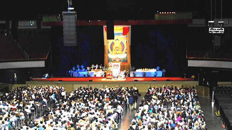 PRG Selects Meyer Sound for Dalai Lama's Address