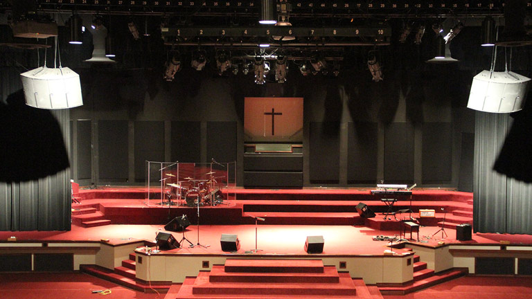 Meyer Sound JM-1P at Hillvue Heights Church