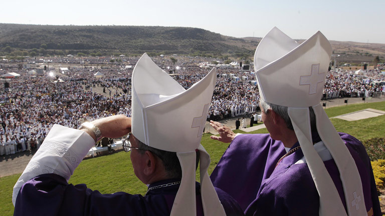 MILO Loudspeakers Support Papal Mass in Mexico