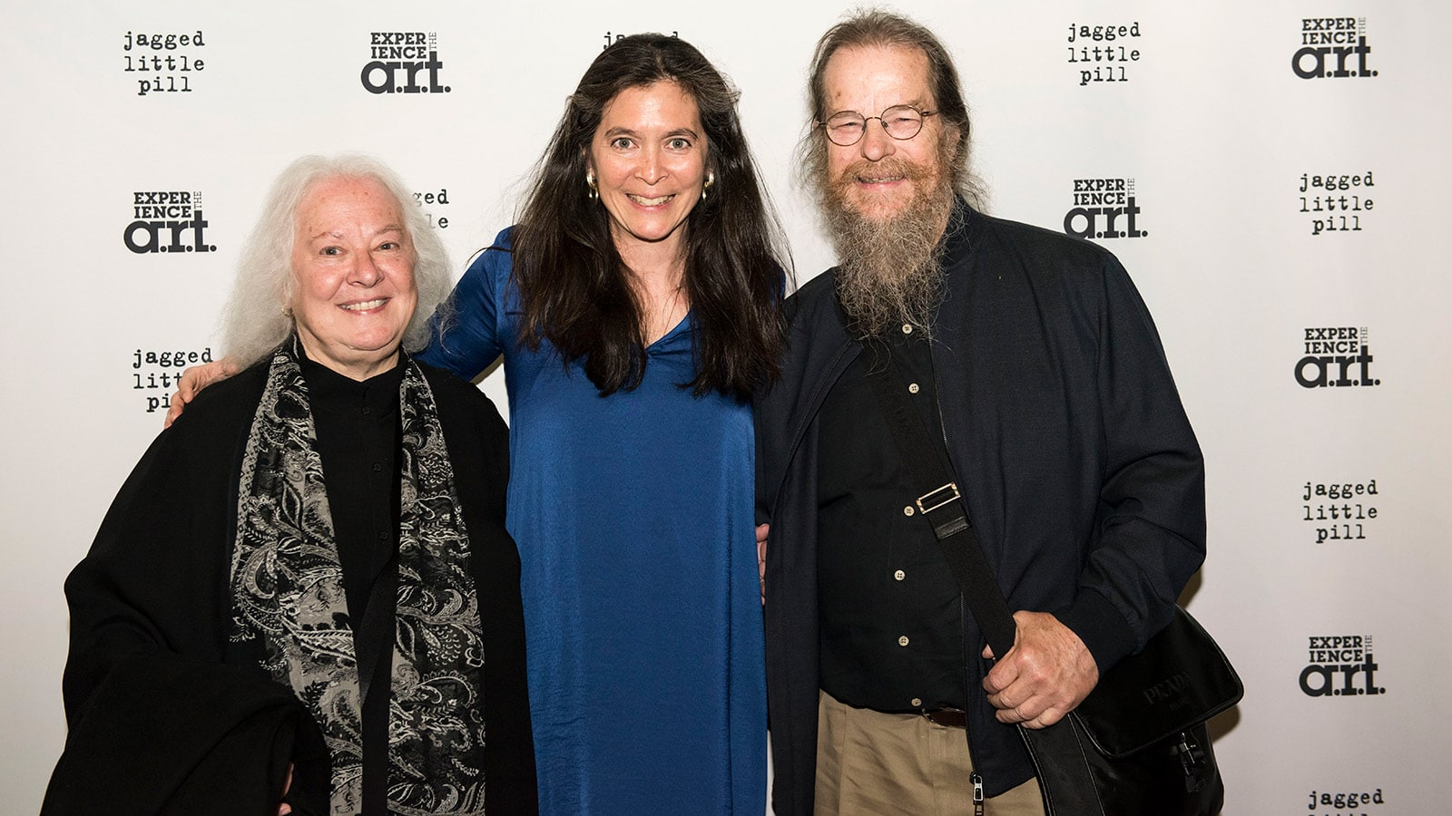 Left to right: Helen Meyer, Diane Paulus, John Meyer