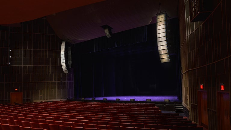 Penn State University's Eisenhower Auditorium Welcomes New Era with LEO Family