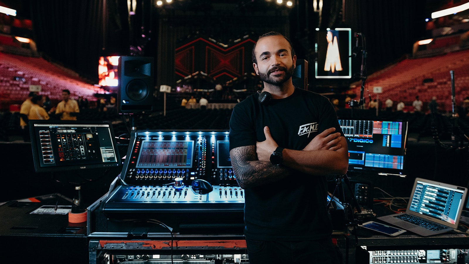 Lucas Pinzón, FOH Engineer