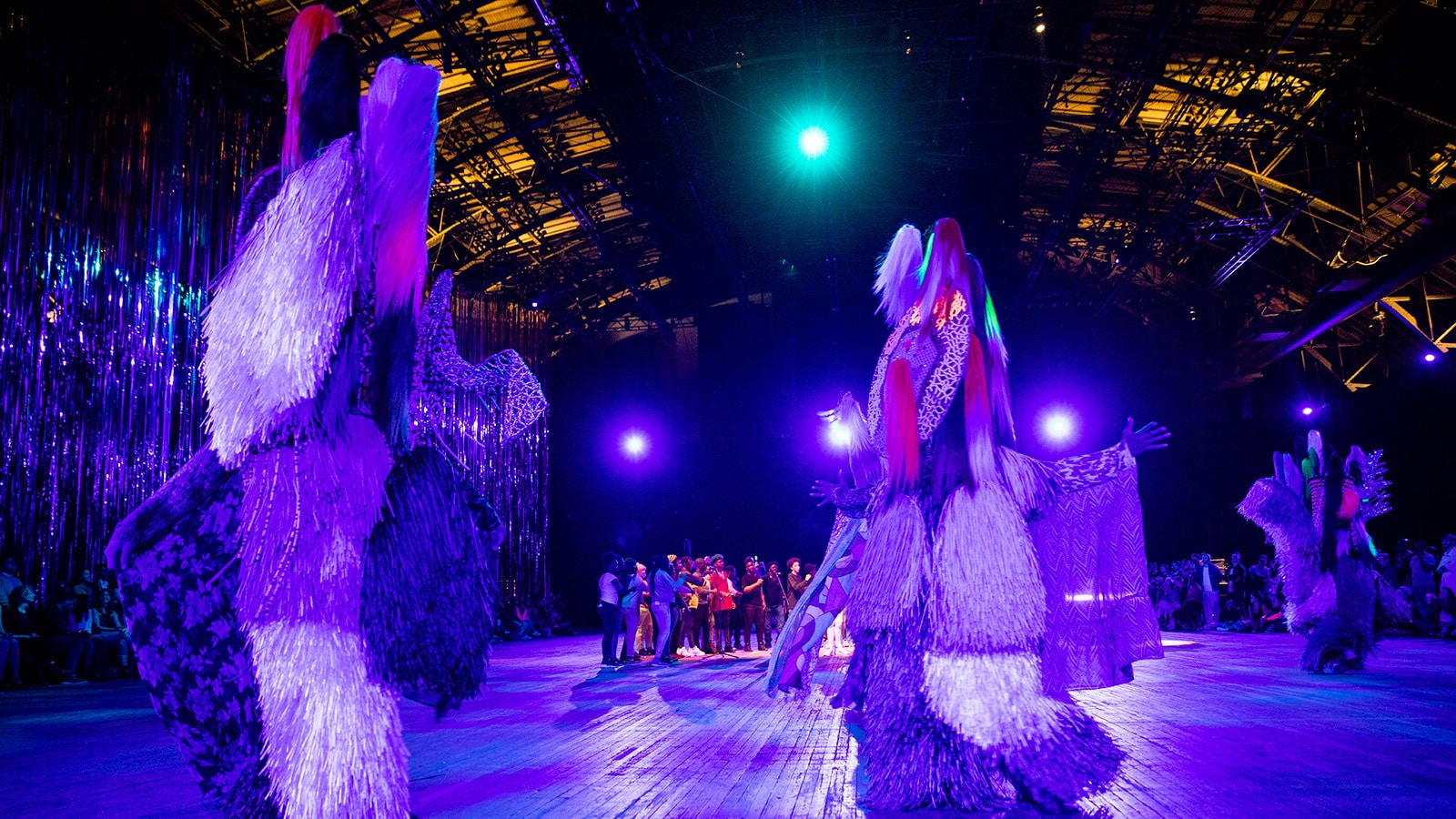 The Let Go, an immersive performance and installation by Nick Cave at Park Avenue Armory