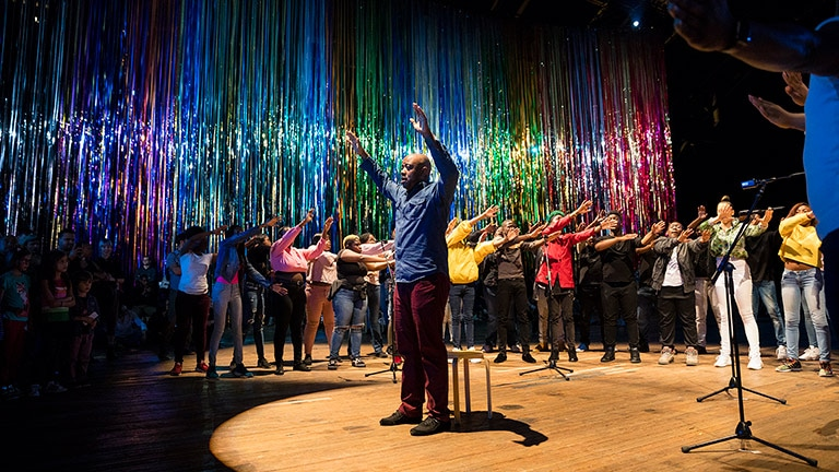 Audiences Loosen Up and Let Go in Immersive Performance Installation at Park Avenue Armory