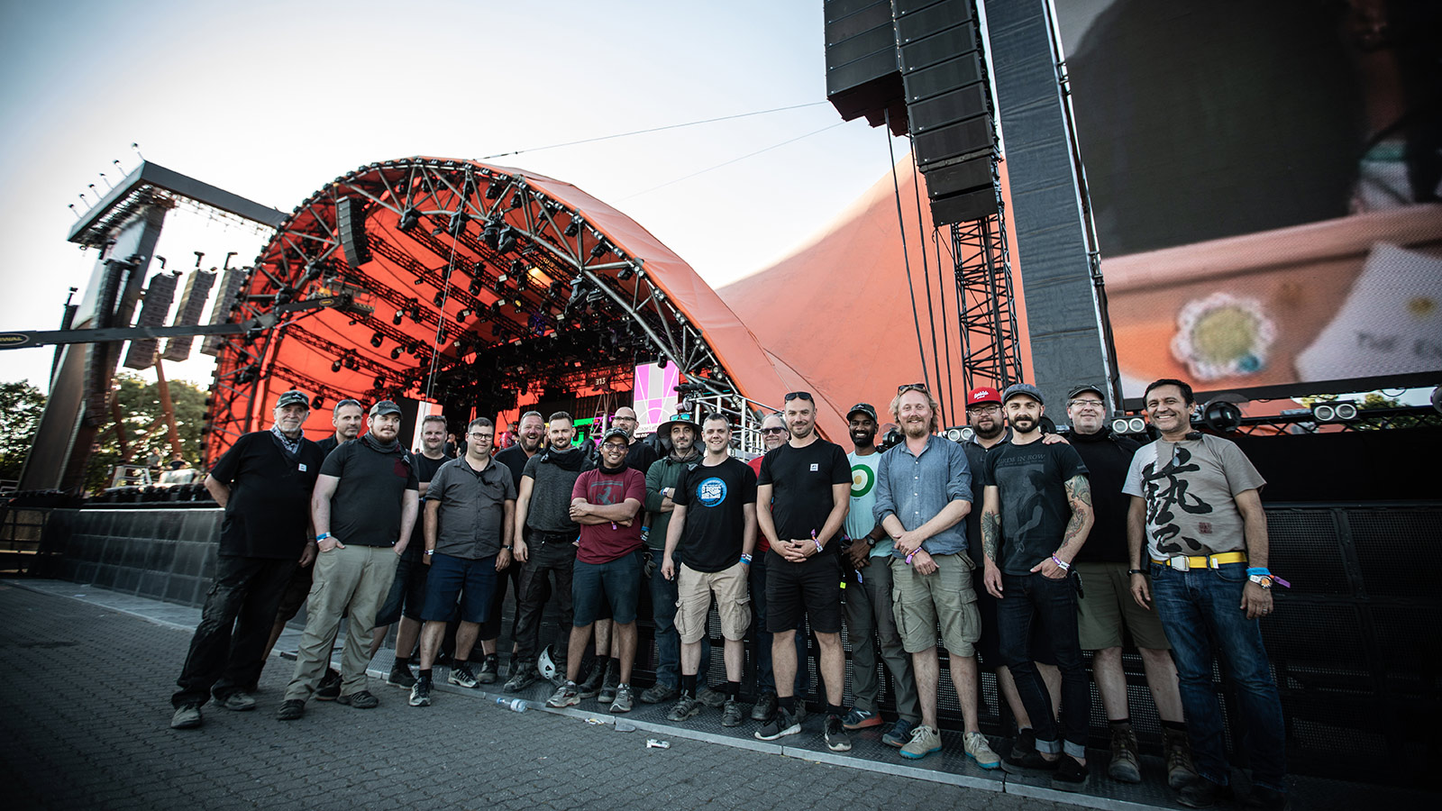 2018 Roskilde Festival Production Crew