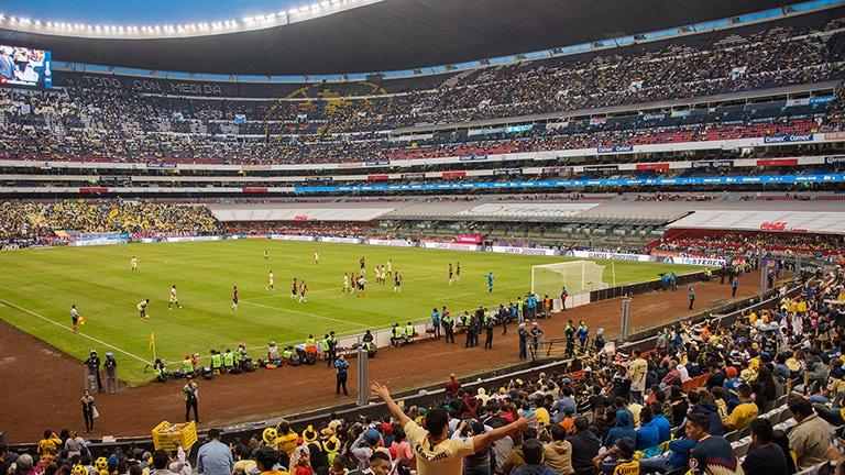Mexico City's Azteca Stadium Claims Another 'First' with AVB-Networked CAL System