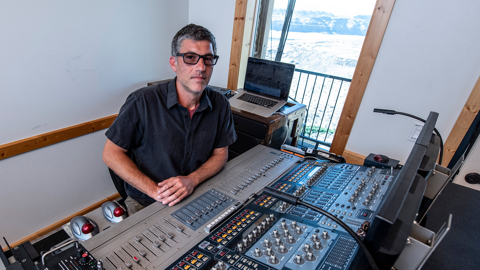 Jeff Thomas, FOH Engineer, Dave Matthews Band