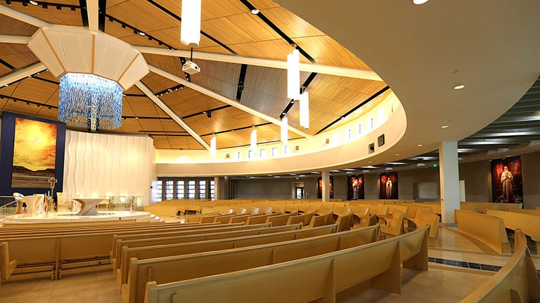 LINA Harmonizes Eye and Ear at Las Vegas' Holy Spirit Catholic Church