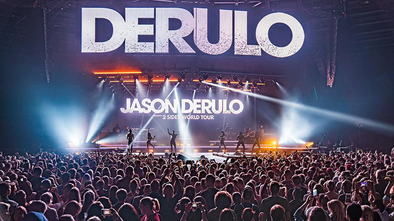 "Global Superstar Jason Derulo Delivers High-Energy ""2Sides World Tour"" Across Europe Using LEO Family"