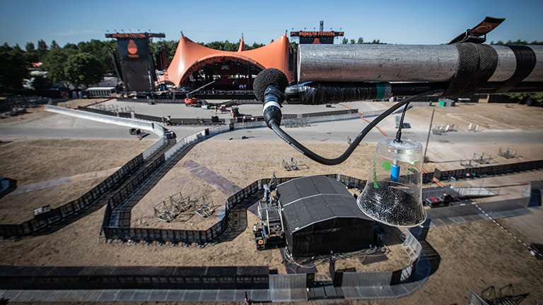 "Roskilde Festival Offers a Rare ""Laboratory"" for Research"