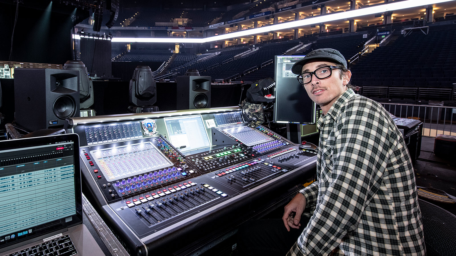 Shane Bardiau, FOH Engineer, Twenty One Pilots