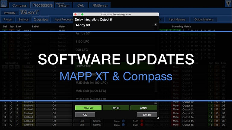 Major Updates Announced for MAPP XT and Compass Software Programs