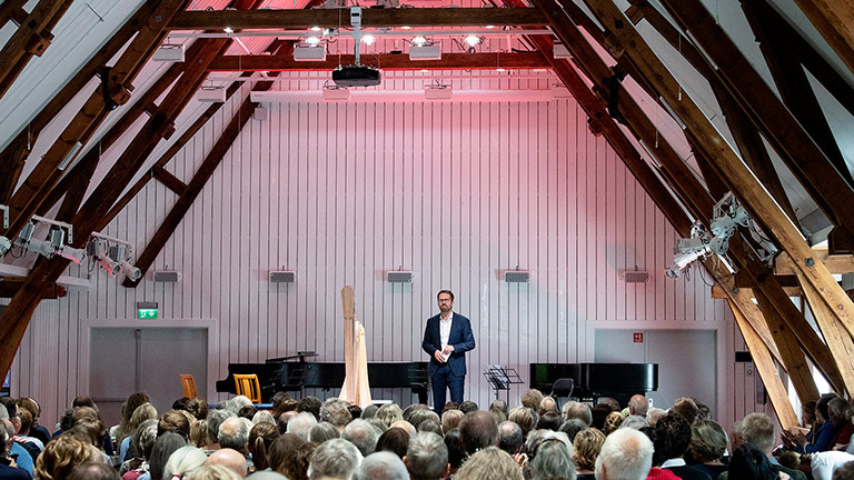 Constellation System Turns a Historic Barn in Norway into a World Class Concert Venue