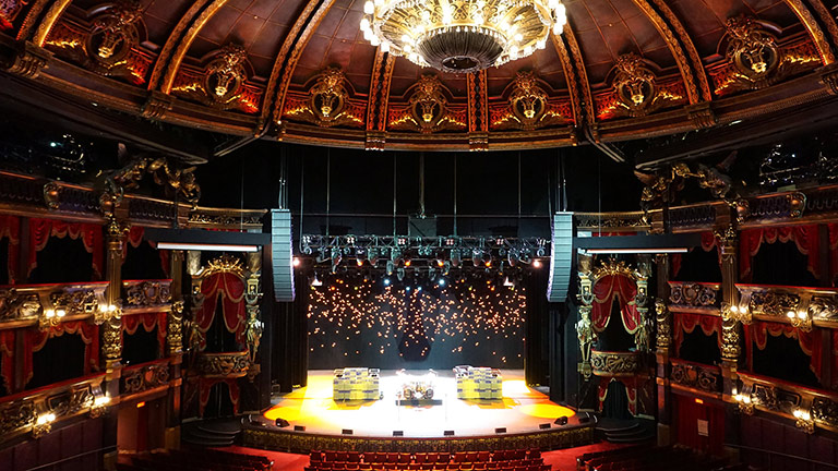 Las Vegas' Opulent Venetian Theatre Rocks Harder with New LYON System