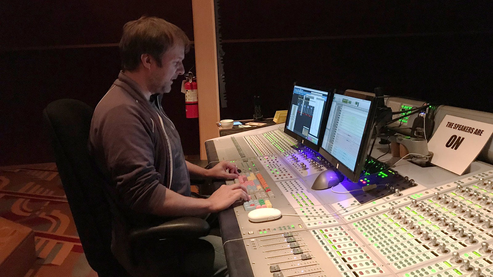 Pete Horner, Skywalker Sound Re-Recording Engineer
