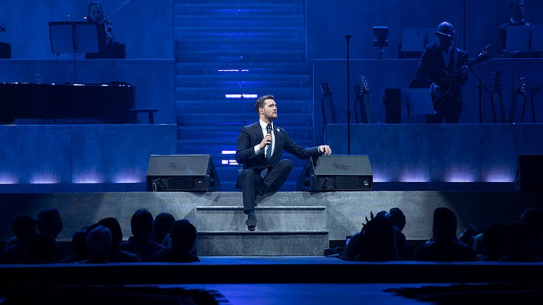 Innovative LEO Family Configuration Makes Closer Better for Michael Bublé and Fans