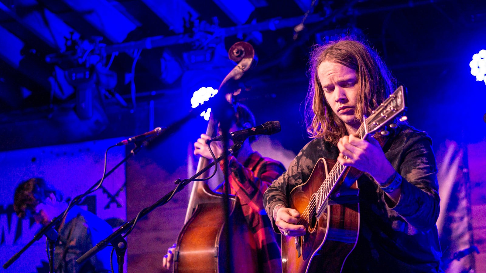 Billy Strings Performing at the Brooklyn Bowl Family Reunion