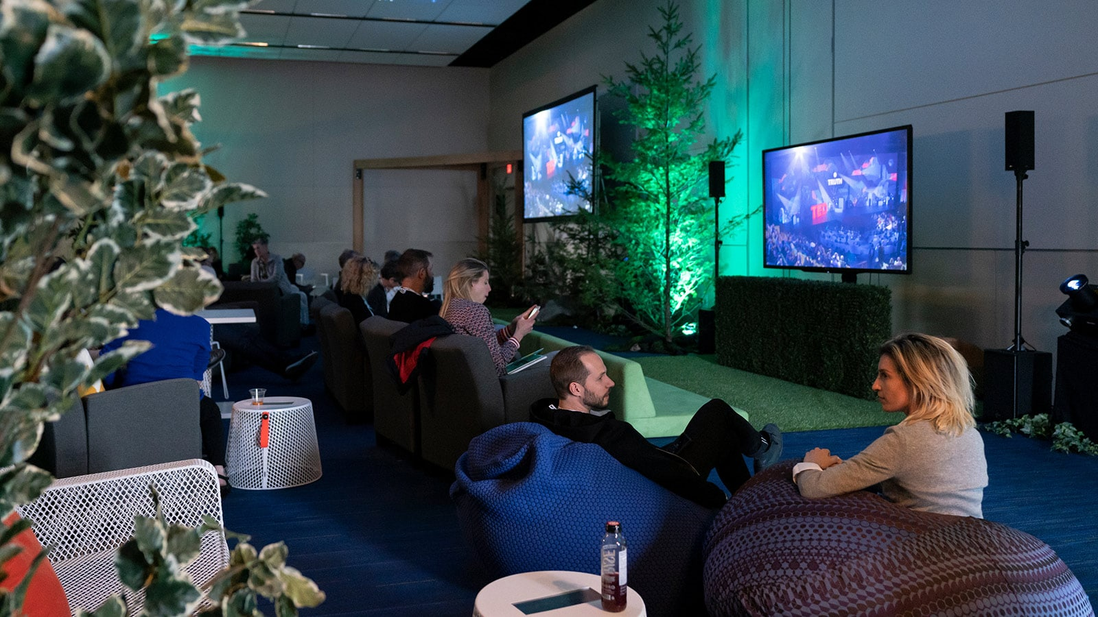 Champagne Simulcast Celebration at TED2019: Bigger Than Us. April 15 - 19, 2019, Vancouver, BC, Canada.
