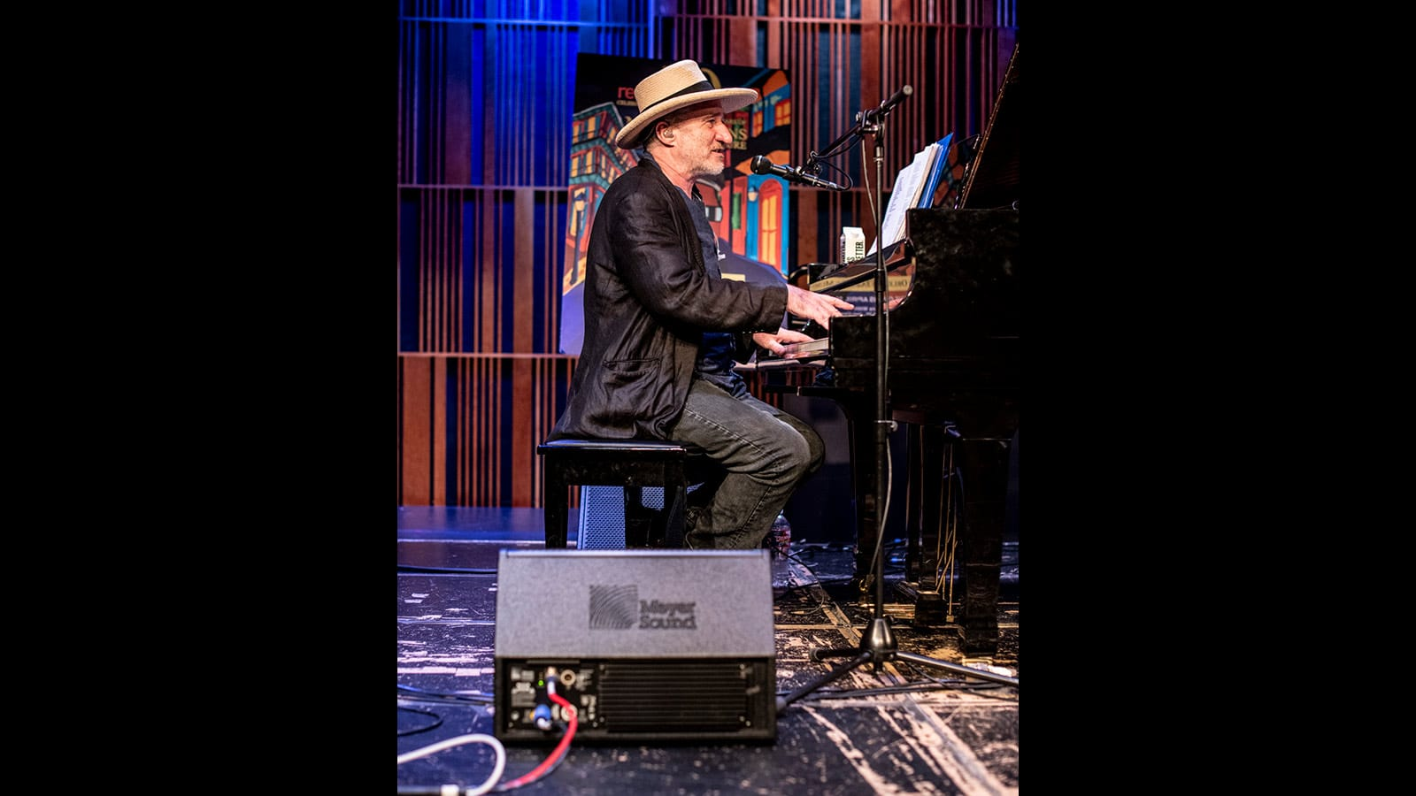Pianist and bandleader Jon Cleary